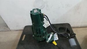 Zoeller Wd295 c 2 Hp 3450 Rpm 240vac Tether Switch Submersible Sewage Pump