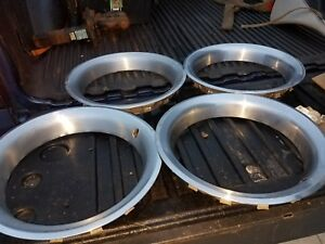 73 81 Trans Am Firebird Pontiac 15 Rally Wheel Trim Rings Rare Gm Set