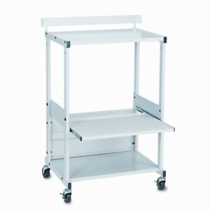 Balt Balt Max Stax Dual Purpose Mobile Printer Stand With 3 Shelves