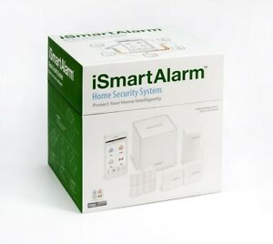 New Ismartalarm Isa3 Preferred Package Home Security System White Sealed Bnib