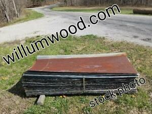 Reclaimed Corrugated Metal Tin Roofing Runs 99 Per Sq Ft