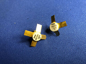 2n5589 Trw Rf Transistor Rare Gold Vintage 1972 Collectible Last Ones