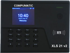 New Compumatic Xls 21 V2 Pin Rfid Prox Fob Time Clock System W Wifi Tcp ip
