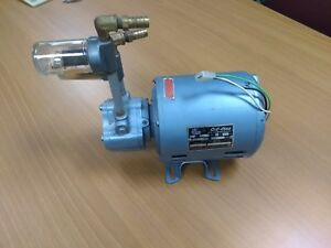 Bell And Gossett Oil less Rotary Air Compressor Vacuum Pump 1 6 Hp