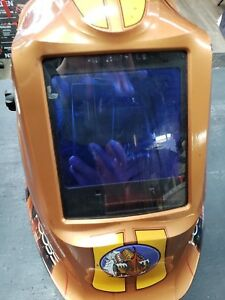 Lincoln Electric Viking 3350 Terracuda Welding Helmet With 4c Lens Technology