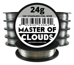 Wholesale Stainless Steel 316l Wire Lot Of 10 Spools Pick A Gauge