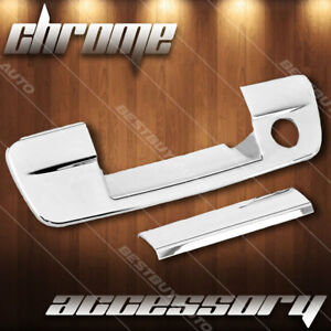 For 2009 2018 Dodge Journey High Gloss Chrome Tailgate Handle Cover Overlay Trim