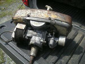 Original Lawn Boy 2 Stroke Recoil Start Model D430 Vertical Shaft Engine Runner
