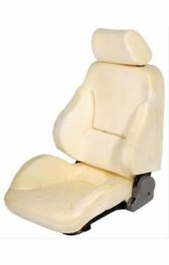 Scat Seat Rally 1000 Un upholstered Lever Recline Sliders Driver Side Each