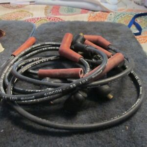 Nos 1975 1978 Ford Mustang Ii Pinto 2800cc Correct Spark Plug Wires Set Origin