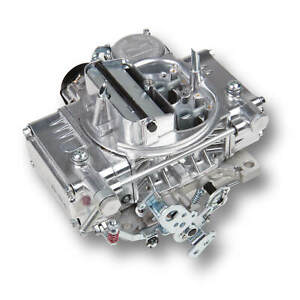Holley 0 80457s 4160c 600cfm Carburetor Electric Choke Vacuum Secondary Polished