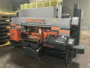 Hem Dual Column Heavy duty Metal cutting Production Band Saw H220hla dc c