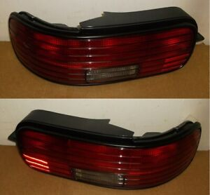 Impala Ss Lh Rh Tail Light Assys Black 5977447 5977448 1994 96 Nos Obsolete Gm