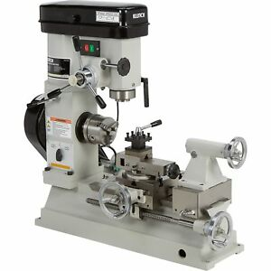 Klutch Lathe Milling And Drilling Machine 1 2 Hp 110v Motor
