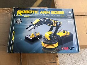 Owi 535 Robotic Arm Edge Gripper Toy Wired Control Kit Science Educational Rc