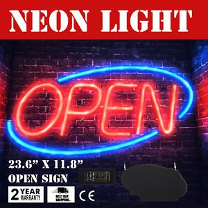 Royal Sovereign Neon Led Open Sign Electric Open Sign Advertisement For Window