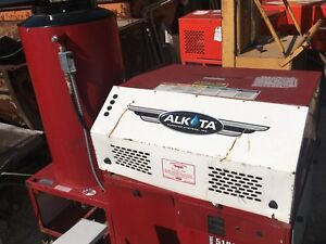 Alkota 5181 Gas Fired Hot High Pressure Power Washer Cleaning Equipment Machine