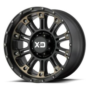 20 Inch Black Wheels Rims Ford Truck F250 F 350 8x6 5 Lug Xd Series Xd829 20x10
