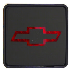 For Chevy Logo 2 Class Iii Rear Towing Trailer Brake Light Hitch Receiver Cover