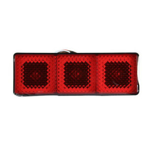Universal 2 Class Iii Rear Towing Trailer Long Brake Light Hitch Receiver Cover
