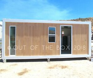 160 Sqft Pre fab Steel Frame House container 20ft Style