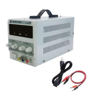 30v 10a Adjustable Variable Digital Dc Regulated Power Supply Lab Grade W Cable