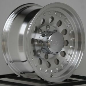 4 16 Inch Wheel Rims Chevy Dodge Ford Truck American Racing Outlaw Ii 8x6 5 Lug