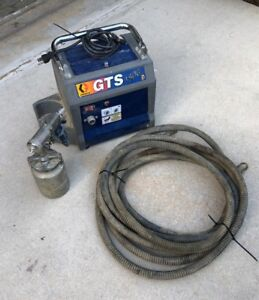 Graco Hvlp Gts 3800 3 Stage Turbine Paint Sprayer W Spray Gun And Hose