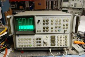 Hp 8566b Spectrum Analyzer 100 Hz To 22 Ghz Works But Read