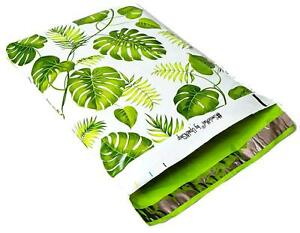 Banana Leaves Designer Poly Mailers Plastic Envelopes Shipping Bags smilemail