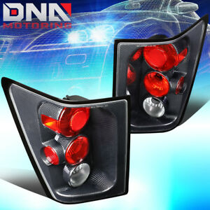 For 2005 2006 Jeep Grand Cherokee Carbon Fiber Housing Altezza Tail Brake Lights