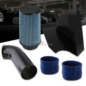 For 1996 2000 Chevy gmc Gmt400 5 0l 5 7l Cold Air Intake heat Shield blue Filter