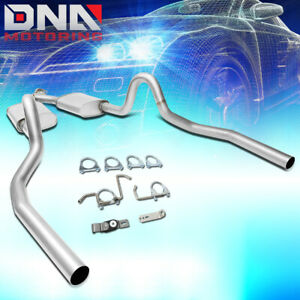For 1999 2004 Ford Mustang 3 8l 3 9l Dual Muffler Catback Exhaust System Y Pipe