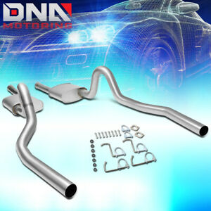 For 1994 1995 Ford Mustang 5 0l Stainless Dual Muffler Catback Exhaust System