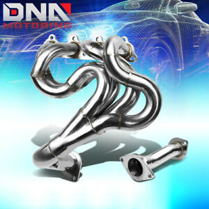 J2 Engineering For 88 00 Honda Civic Crx D16 Performance Exhaust Header Manifold