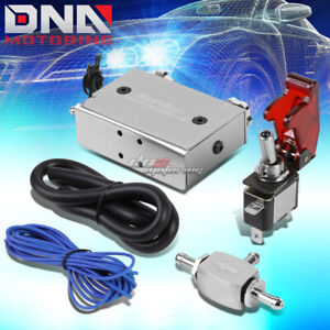 Universal Dual Stage Turbo charger Manual Bypass Psi Boost Controller switch Sil