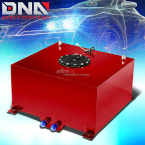 10 Gallon Light Performance Red Coated Aluminum Fuel Cell Tank level Sender