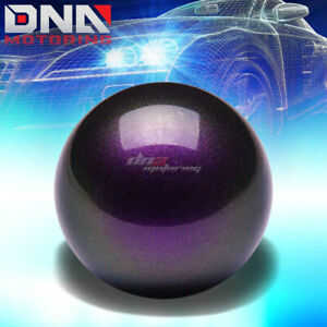 Nrg Anodized Ball Style Weighted 5 Speed Gear Shifter Shift Knob Purple White