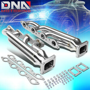 For 1966 1995 Chevy gmc Big Block Bbc 3 T4 Flange Exhaust Turbo Manifolds