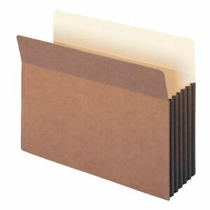 Smead 73390 Redrope Tuff Pocket File Pockets Letter 8 50 X 11 1200 Sheet