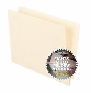 Pendaflex Anti Mold And Mildew End Tab File Folders Letter 8 50 ess62710