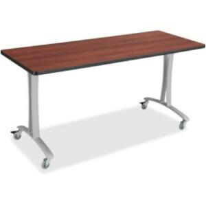 Safco Rumba Training Table T leg Base W casters 2 Legs 25 3 Height 2082sl