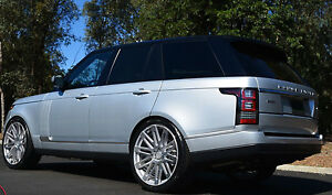 24 Wheels For Range Land Rover Hse Sport 24x10 Inch 5x120 Rims Set Of Four