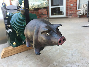 maytag Smoked Bacon 92 hit Miss Gas Engine Pig Exhaust Muffler Engine Show