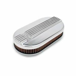 Edelbrock Classic Series Air Cleaner 15 L X 8 1 4 W Oval 4115