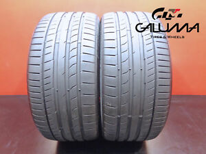 2 Nice Continental Tires 255 35 19 Zr Contisportcontact 5p 92y Runflat Bmw 47475