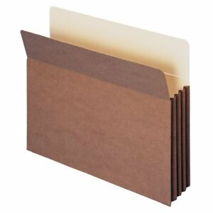 Smead 73380 Redrope Tuff Pocket File Pockets Letter 8 50 X 11 800 Sheet