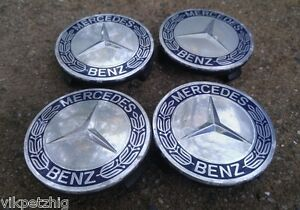 10 16 Mercedes C250 C300 C Class Set Of Four 4 Center Caps Wheel Covers Hub