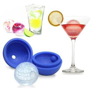 DIY Cocktails Ice Ball Star Wars Death Star Silicone Mold Ice Cube Tray Mould US