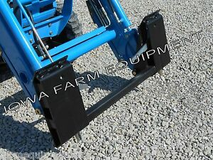 ls J Xj Series Tractors Pin on Loader To Skid Steer Quick Attach Adapter